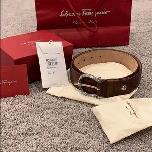 100% Authentic Salvatore Ferragamo Leather Belt